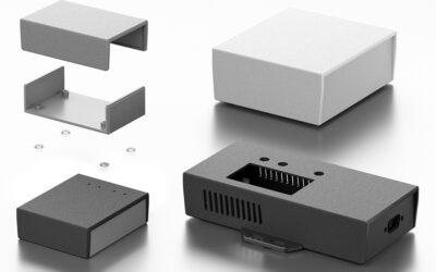 Skříňka Raspberry Pi s doplněná prostorem pro desky HAT (RSP …)
