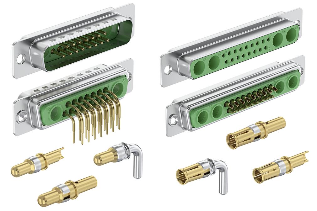 Rozšíření v oblasti D-Sub konektorů se smíšenými piny